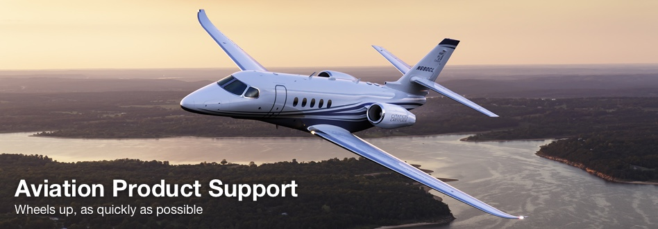 Aviation product support. Wheels up, as quick as possible