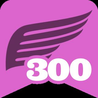 300 000 kroků