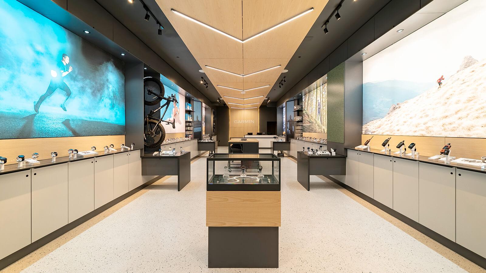 Garmin Retail Interior Sales Floor