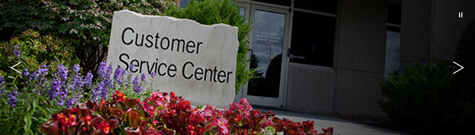 Service Center Entrance