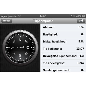Garmin StreetPilot® til iPhone 4