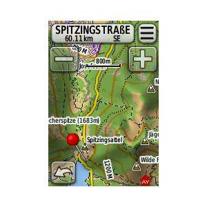 Edge® 800 + Topo Karte 7