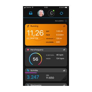 Garmin Connect-App 8
