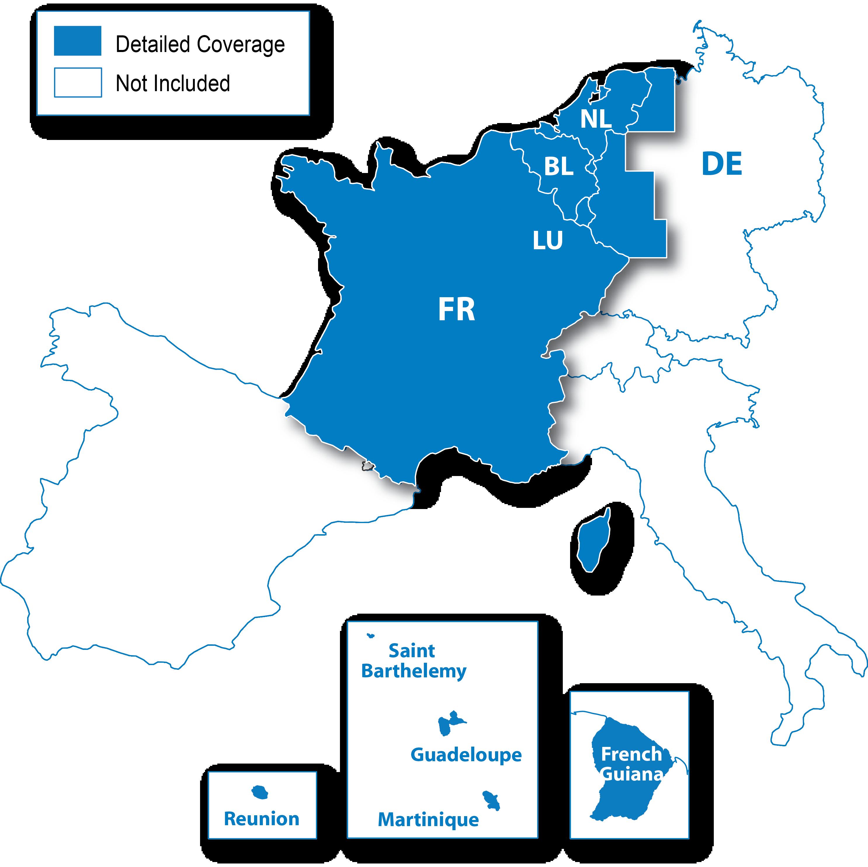 Monaco Italien Karte.Europa Kartenregionen Lander Und Gebiete Die Als Regionen