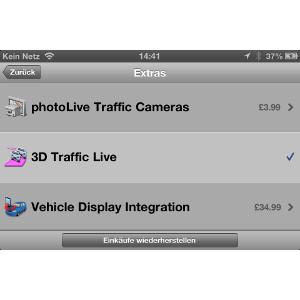 Garmin StreetPilot® für das iPhone 4