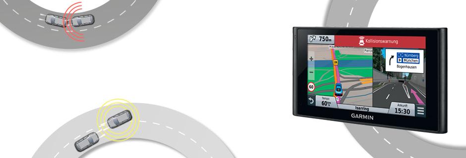 nüviCam™ - Premium Navigation mit Fahrerassistenzsystemen