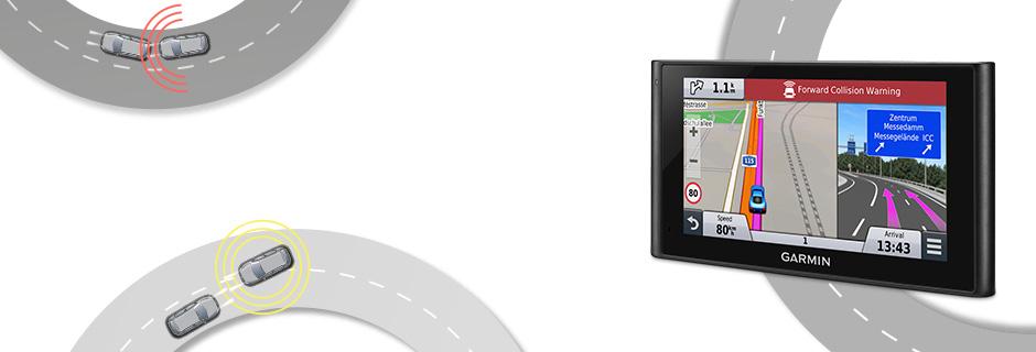 nüviCam™ - Sistema di guida assistita con dash cam integrata.