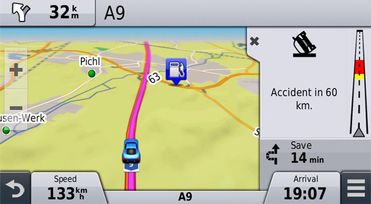Traffic Garmin United Kingdom