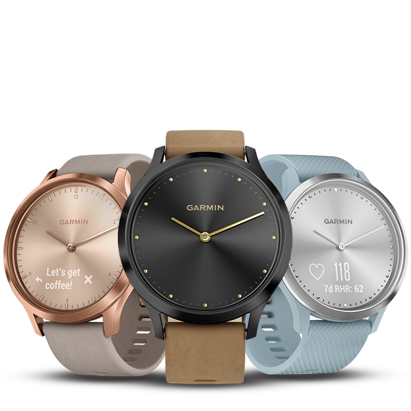SAVE UP TO 50% ON SELECTED VÍVOMOVE® HR HYBRID SMARTWATCHES