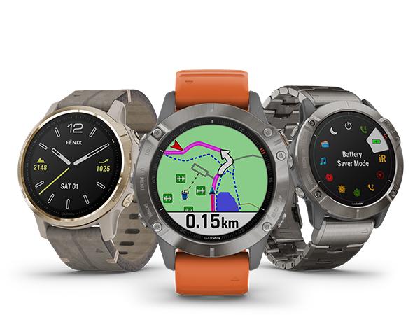 SÉRIE FĒNIX®6 | MONTRES GPS MULTISPORTS