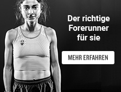 Find Your Forerunner - Jetzt mehr erfahren!