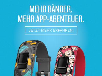 Mehr Bänder. Mehr App-Abenteuer.