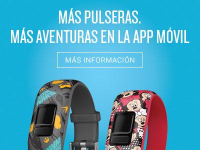 Más pulseras. Más aventuras en la app móvil