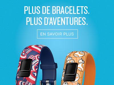 Plus de bracelets. Plus d'aventures.