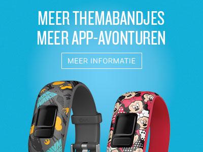 Meer themabandjes meer app-avonturen