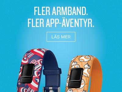 fler armband. fler app-äventyr.
