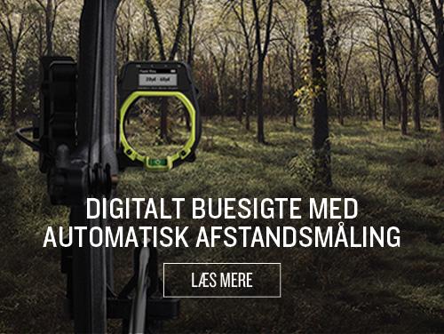 Digitalt buesigte med automatisk afstandsmåling