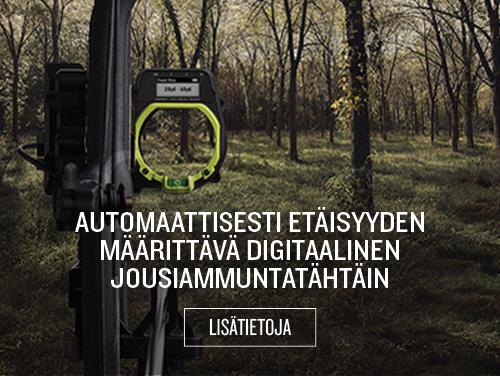 Automaattisesti etäisyyden määrittävä digitaalinen jousiammuntatähtäin