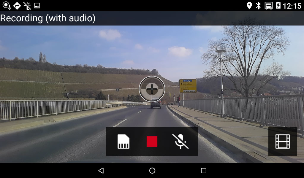 Built-In Dashcam
