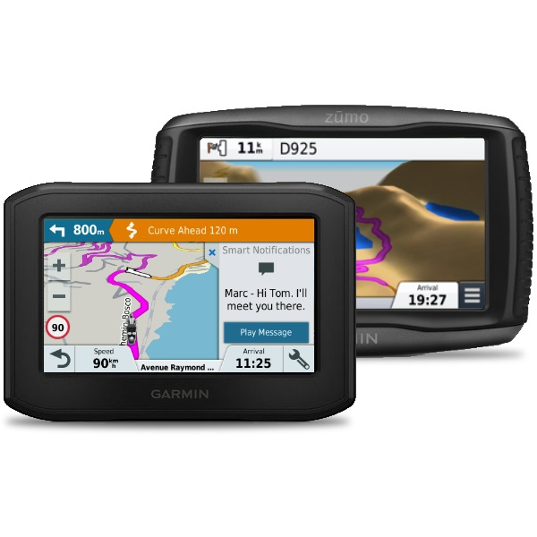 GPS-kobling for motorsykkel
