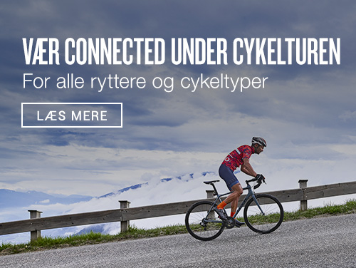Vær connected under cykelturen