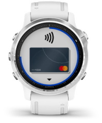 fēnix 6S sa zaslonom funkcije Garmin Pay