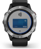 fēnix 6 com ecrã do Garmin Pay