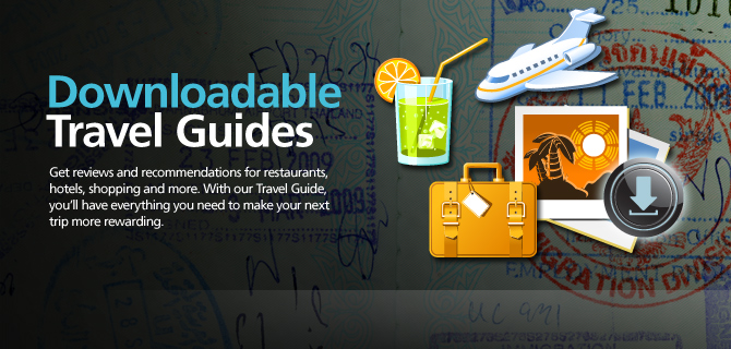 Downloadable travel guides