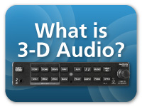 What is 3-D audio?