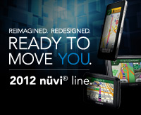 nüvi-Reihe für 2012