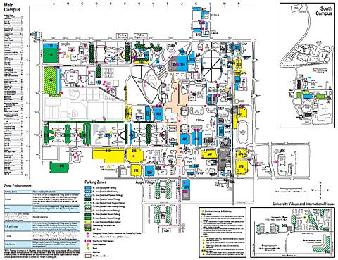 Colorado State University Map | afputra.com