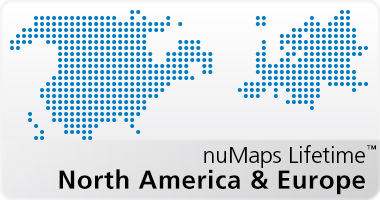 nuMaps Lifetime North America and Europe