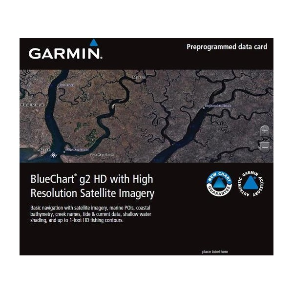 BlueChart® g2 HD with High Resolution Satellite Imagery
