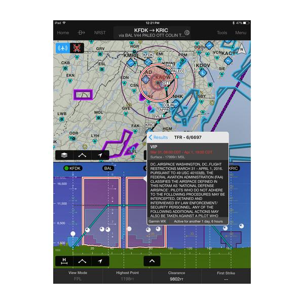 garmin pilot garmin aviation app. Black Bedroom Furniture Sets. Home Design Ideas