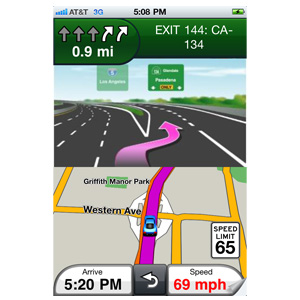 Garmin StreetPilot® for iPhone® 2