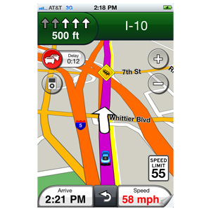 Garmin StreetPilot® for iPhone® 3