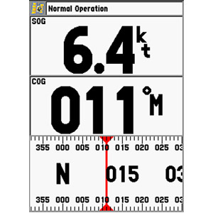 GPSMAP® 398 Sounder 1