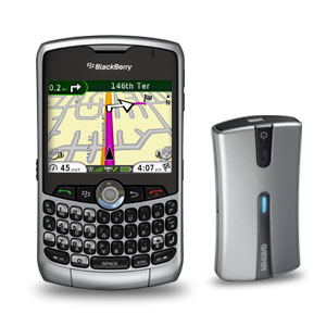 Garmin Mobile® for BlackBerry® and GPS 10x
