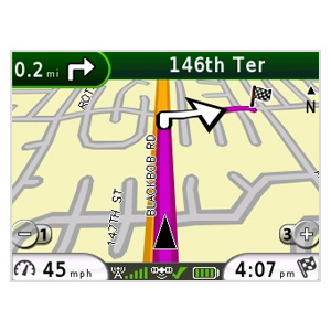 Garmin Mobile® for BlackBerry® and GPS 10x 6