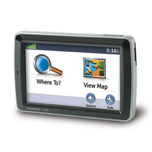 how to get the main menu on garmin nuvi