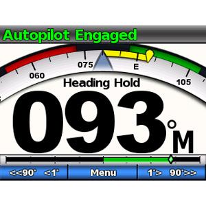 GHC™ 10 - Afficheur graphique pour pilote automatique Garmin (écran additionnel) 4