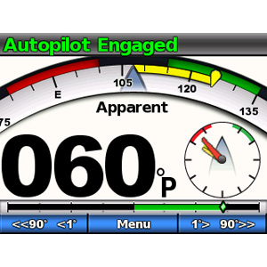 GHC™ 10 - Afficheur graphique pour pilote automatique Garmin (écran additionnel) 6