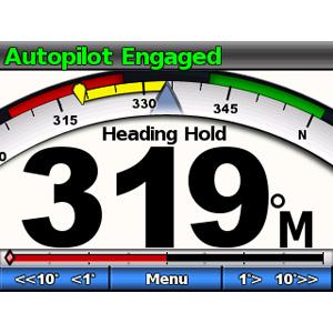 GHC™ 10 - Afficheur graphique pour pilote automatique Garmin (écran additionnel) 7