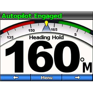 GHP™10V-Marineautopilotsystem 3