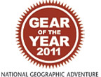 National Geographic Adventure – Gear of the Year 2011