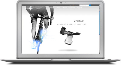 Vector Landing Page