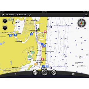 BlueChart® Mobile app 2