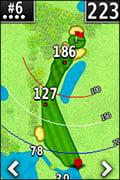 Garmin Approach G6 Aangepaste afstanden