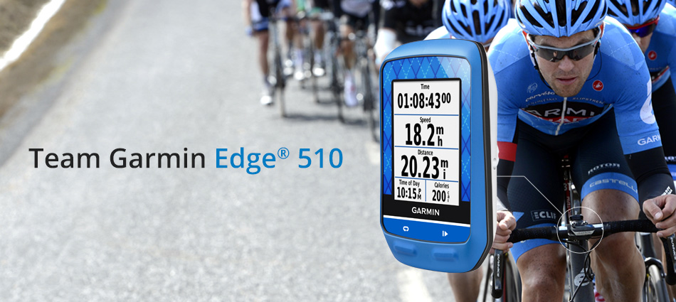 Edge 510 Team Garmin