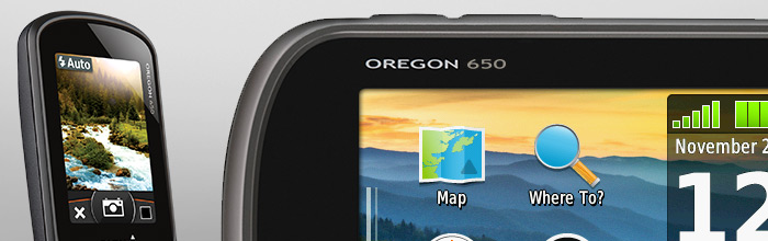 Oregon 650 Garmin